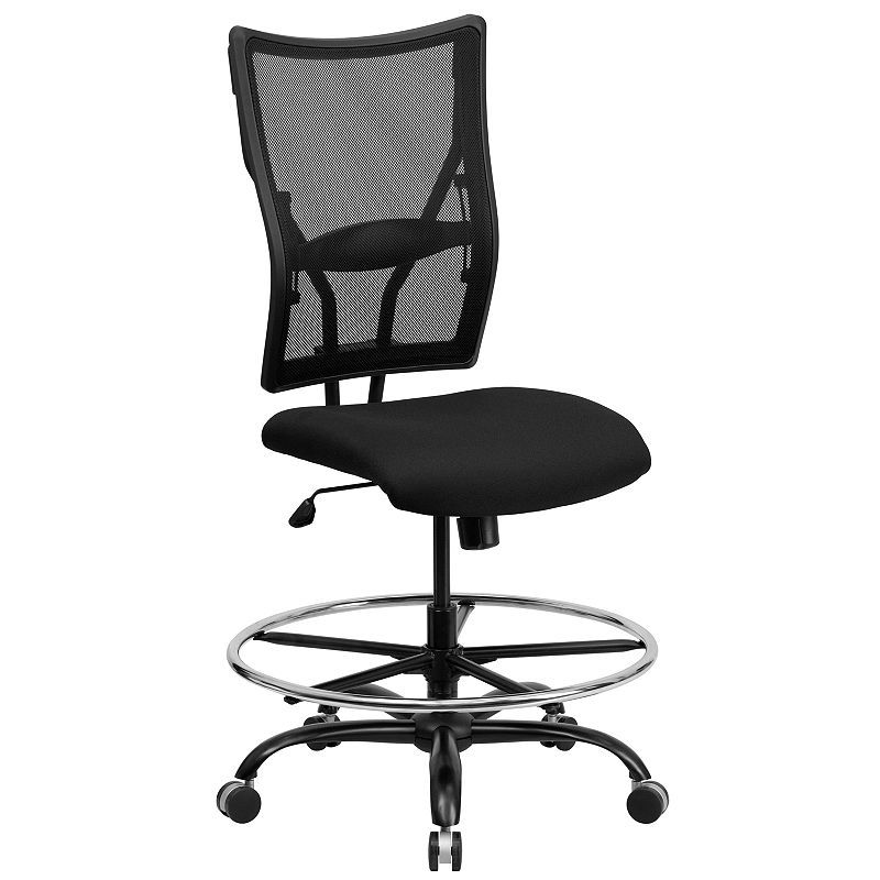 Swell Hercules Series 400 Lb Capacity Big Tall Mesh Drafting Pdpeps Interior Chair Design Pdpepsorg