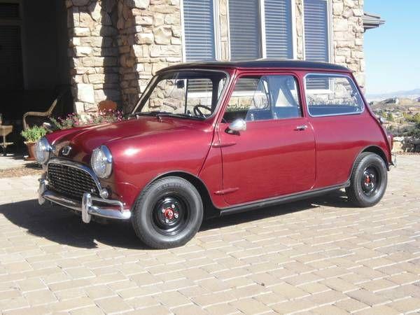 1966 Austin Mini Mini For Sale Mini Vintage Austin