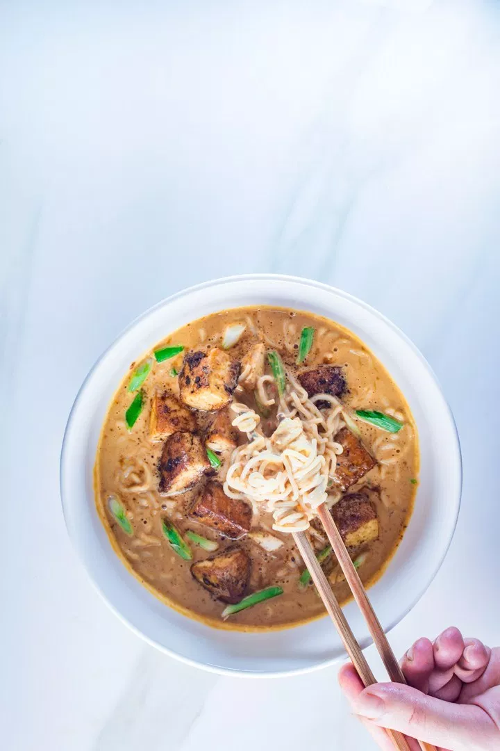 Keto Vegan And Super Easy To Make Peanut Butter Ramen Under