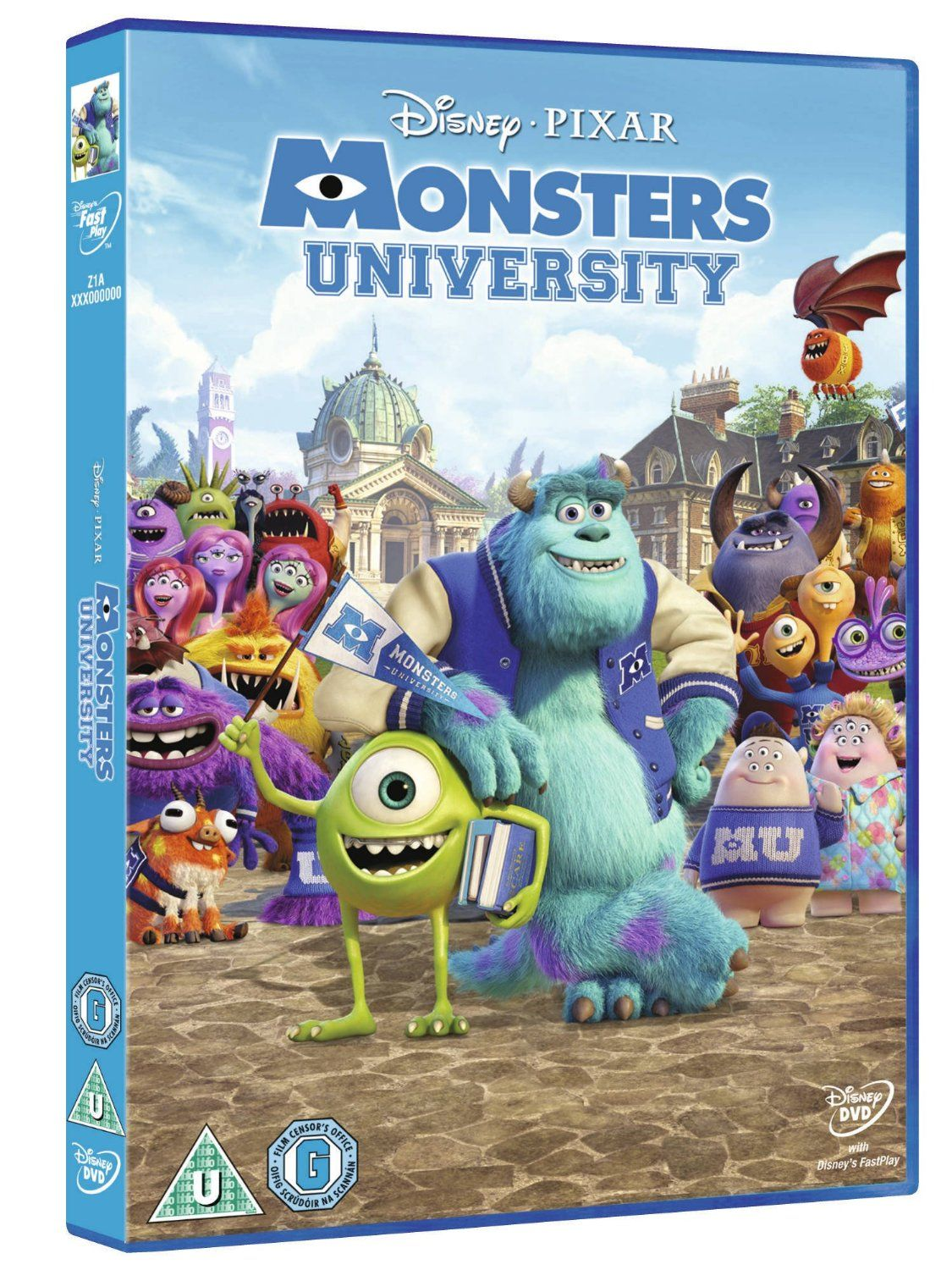 Monsters University DVD ♡ Monster university, Walt