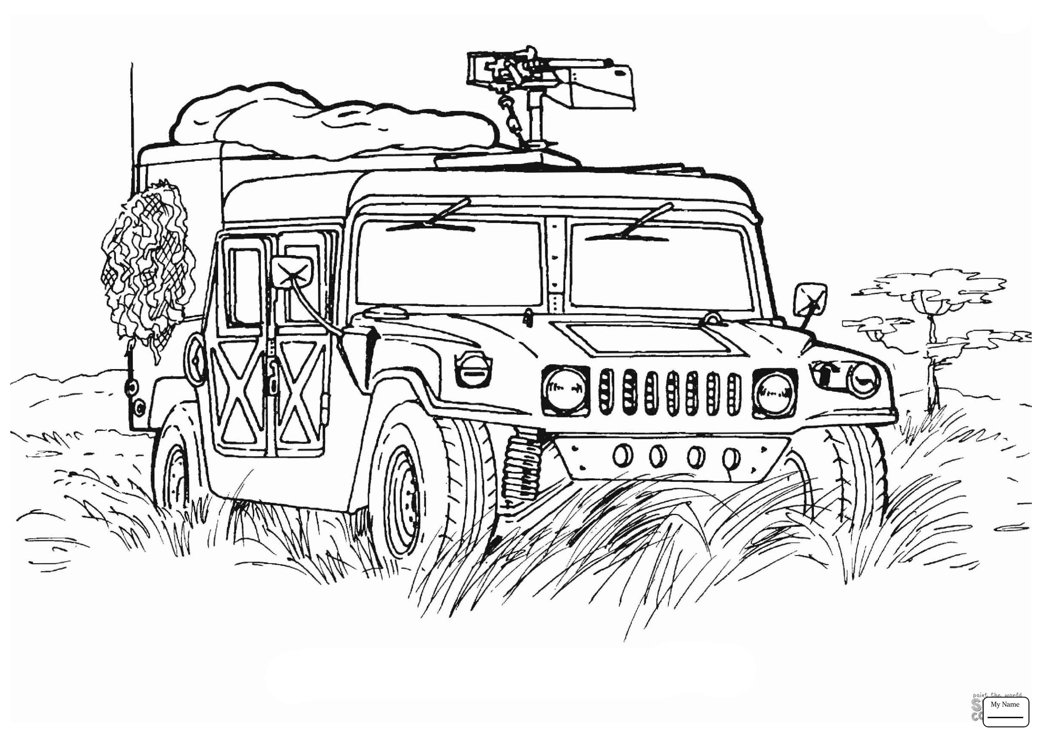 Military Coloring Pages Army Vehicles Armoured Personnel