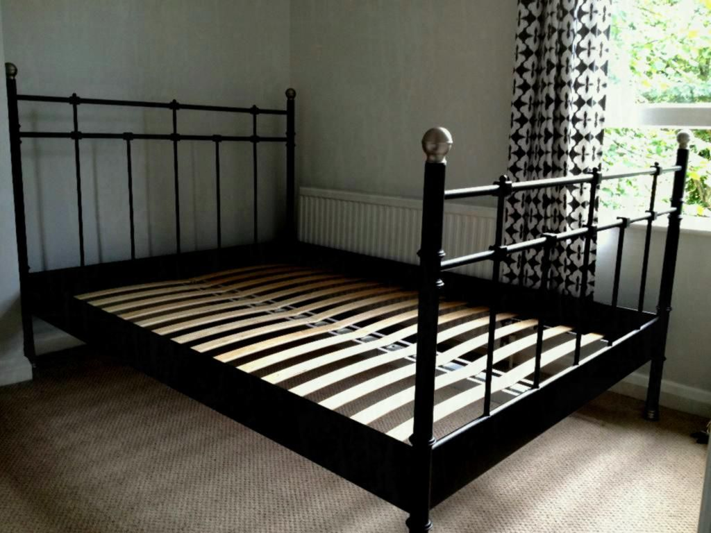Ikea Iron Bed 65 Luxury Stock Of Ikea Nyvoll Queen Bed Frame Bedroom Ikea