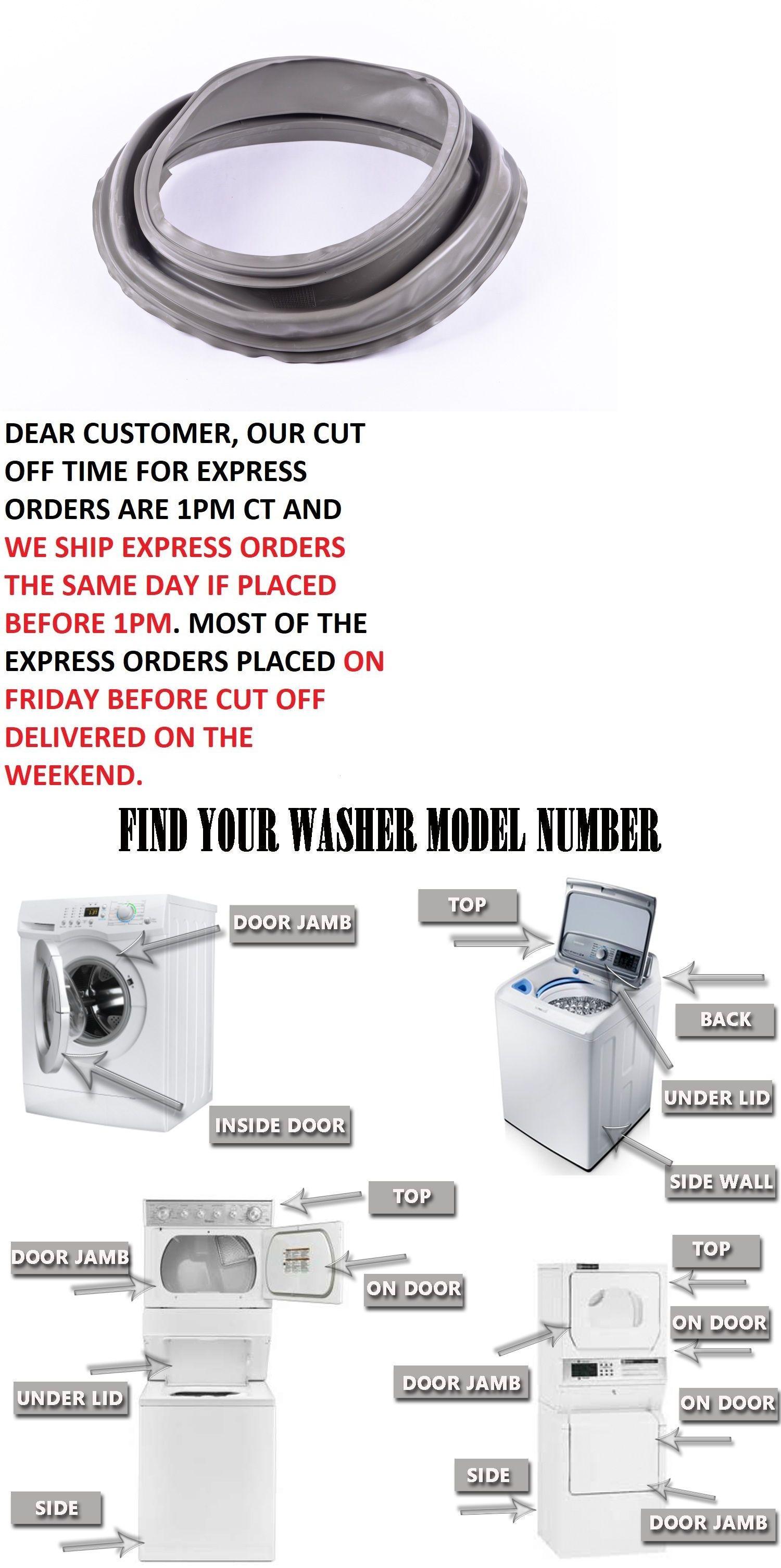 Sealpro Washer Door Gasket For Whirlpool W10111435 8540952 W10178959 W10181962 Whirlpool Washer Washer Whirlpool