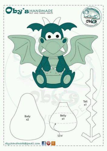 dinosaures et dragon   crafts   Pinterest   Drachen