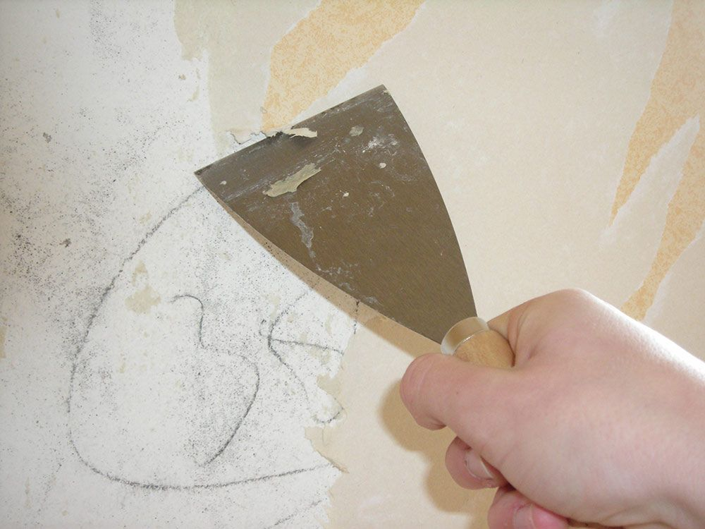 How To Remove Wallpaper Glue Should Ve Seen This Earlier