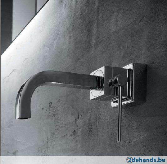 design kranen badkamer uit muur - Google zoeken | Look & feel ...