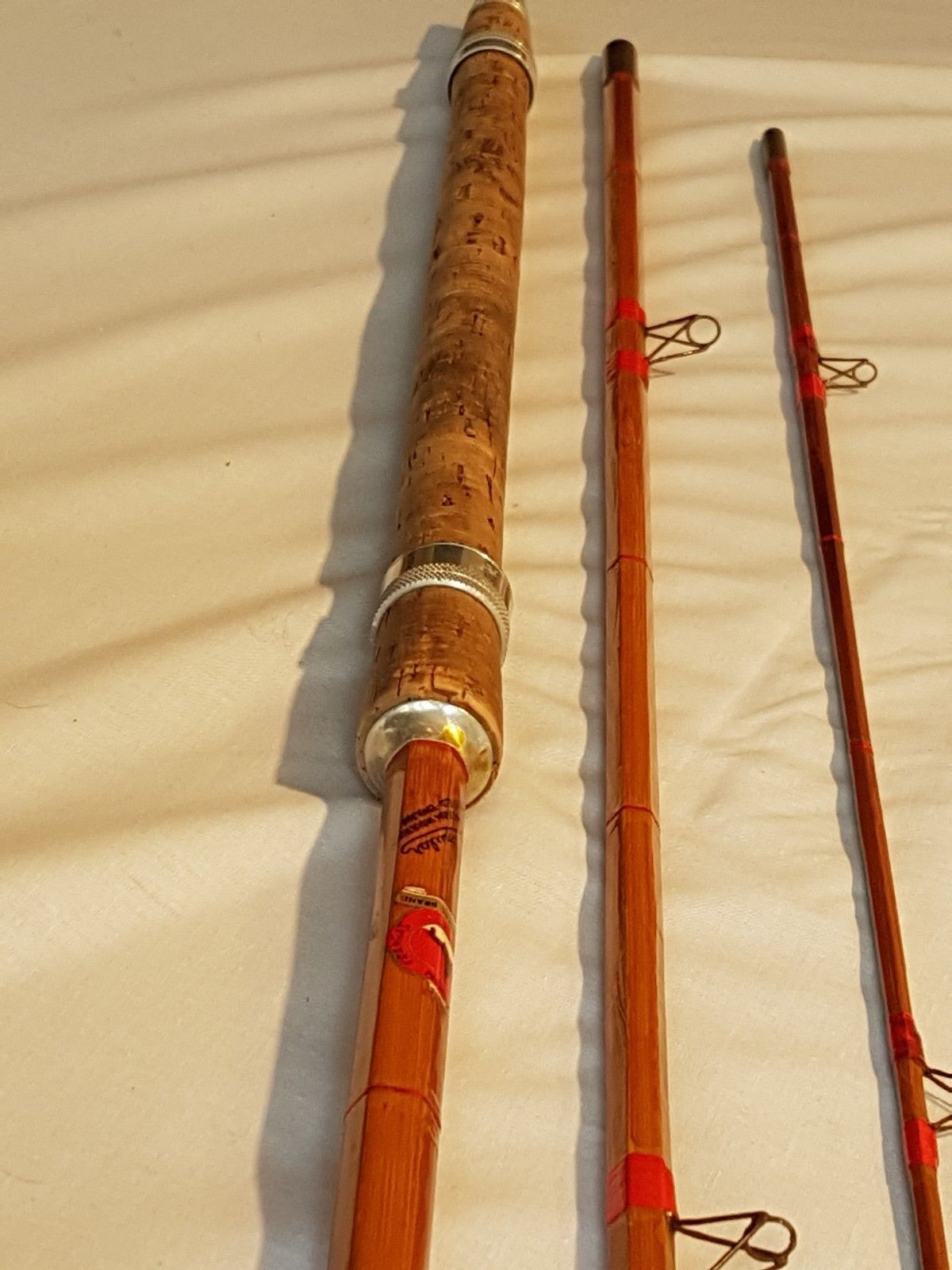 Vintage Royal Seal Mordex Popular 3 Piece 11ft Avon Split Cane Ebay Bamboo Fly Rod Bamboo Rods Vintage