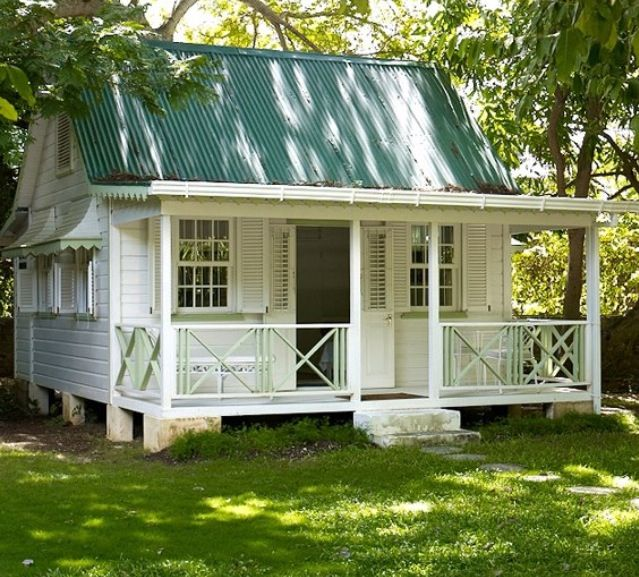 Small Guest Cottage: .perfection...not Too Small, Not Too Large