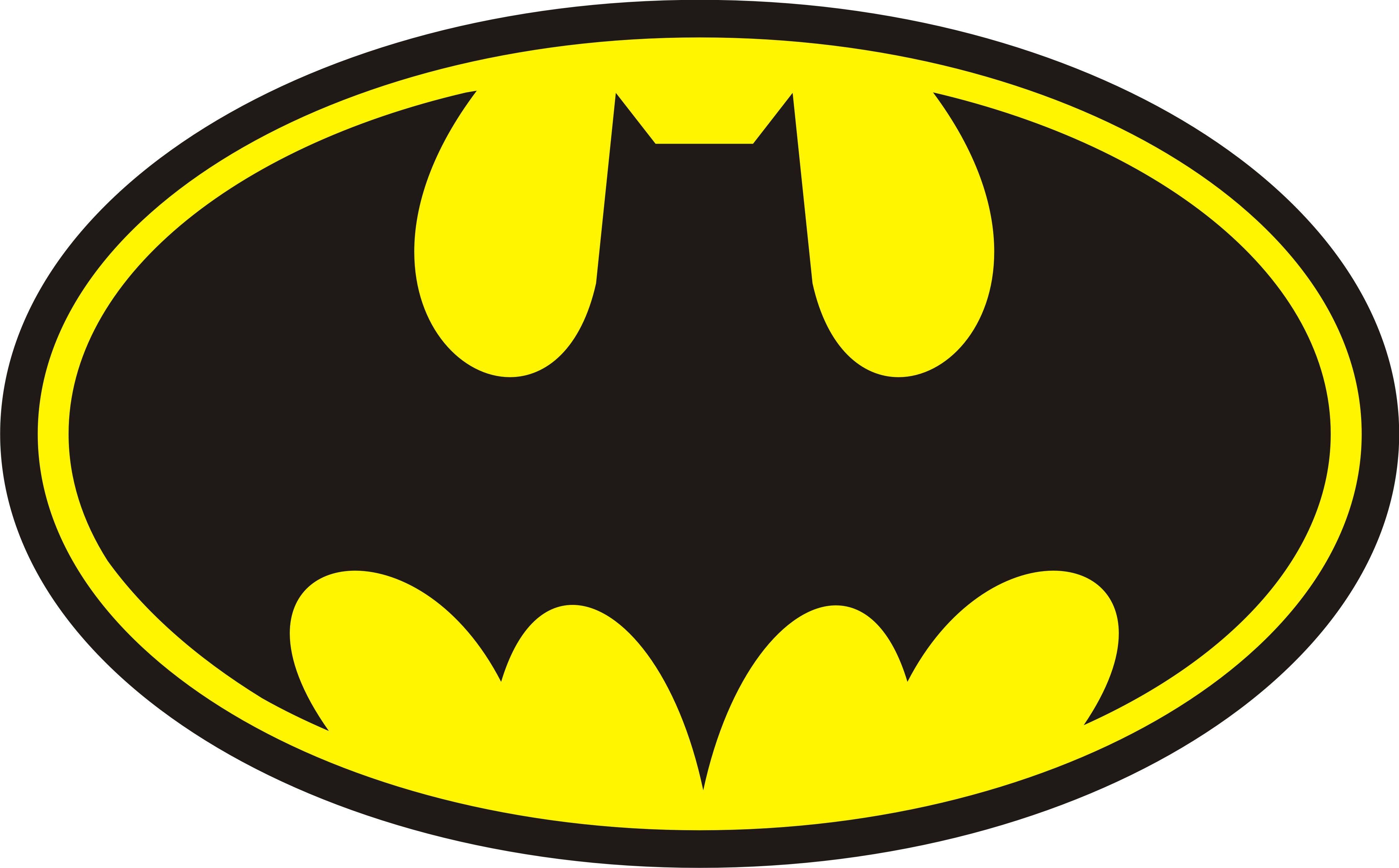 Free Printable Batman Logo Clipart Best Clipart Best Printable Batman Logo Batman Logo Batman Badge