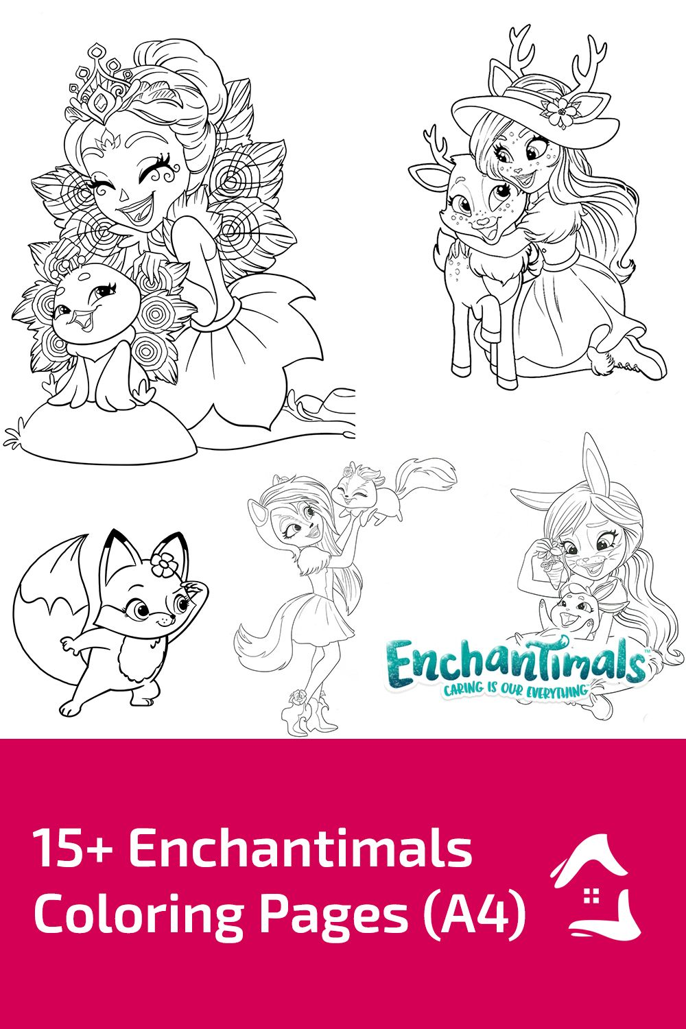 15 Pretty Images Of Enchantimals Coloring Pages Coloring Pages Free Printable Coloring Pages Free Printable Coloring