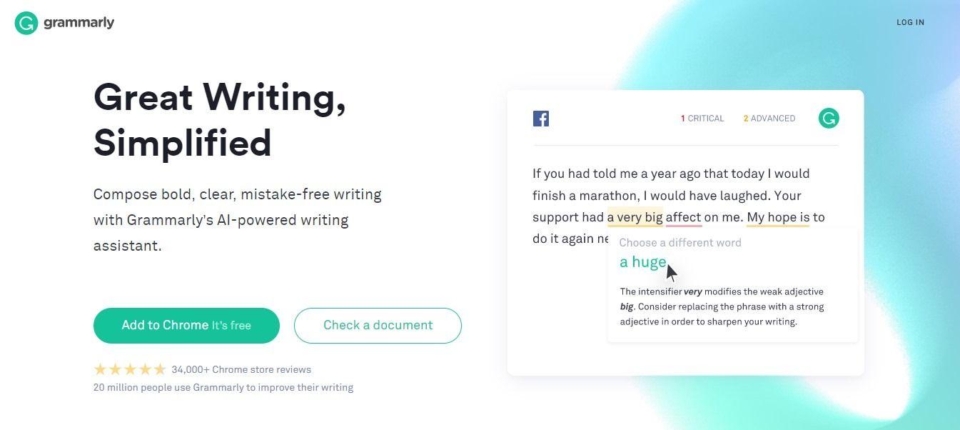 Grammarly Writing Assistant Premium Membership