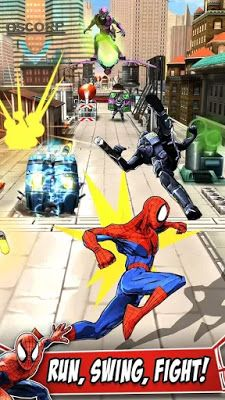 SpiderMan Unlimited APK Downoad MOD Infinite Money Viles ISO