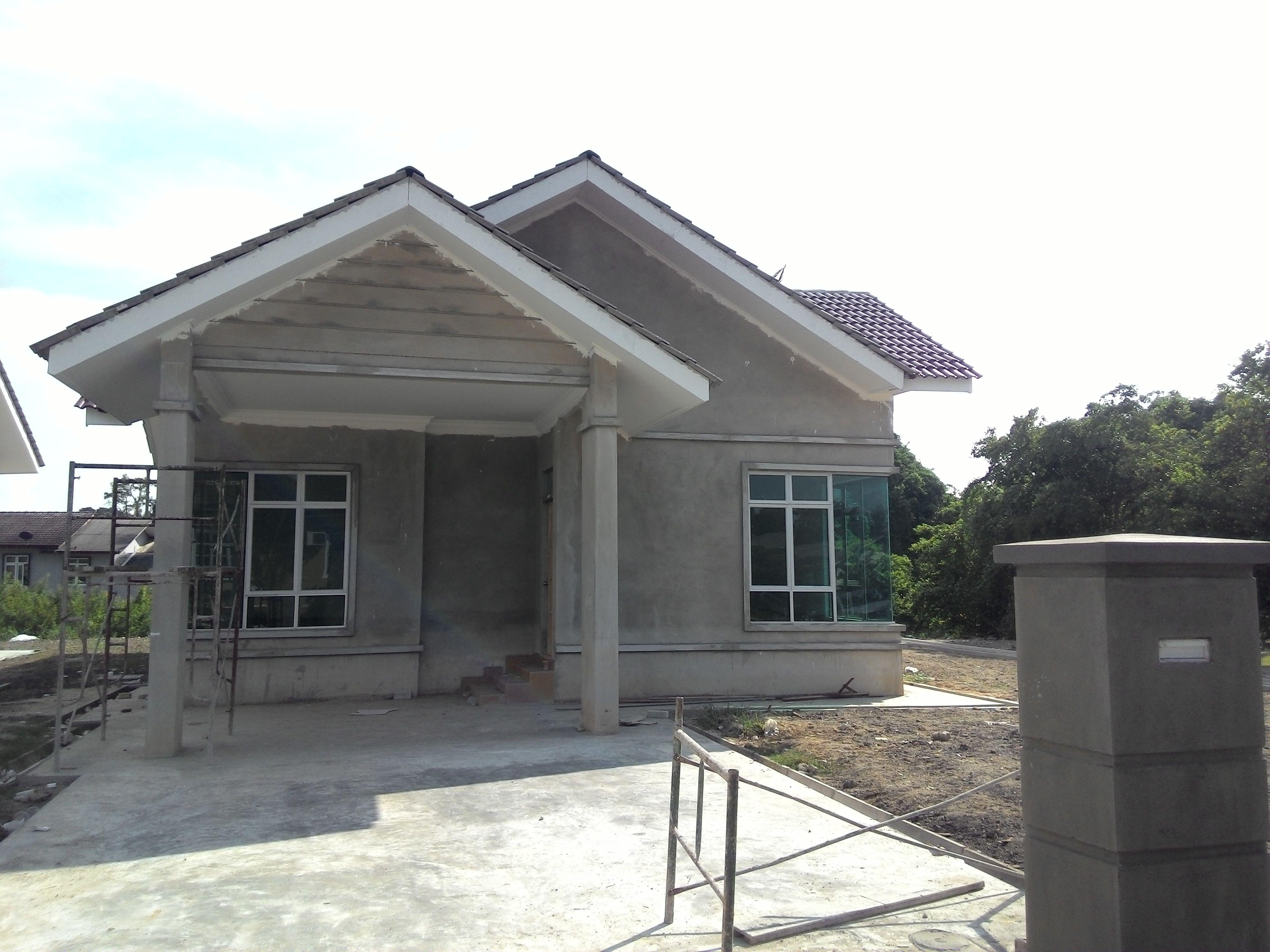 Rumah Banglo Setingkat Rekabentuk Tropika Di Kg Baung Jln Pengkalan Chepa Kb Lokasi 100m Dari