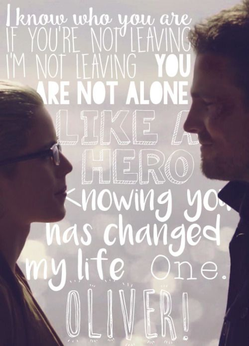 Olicity - Oliver Queen