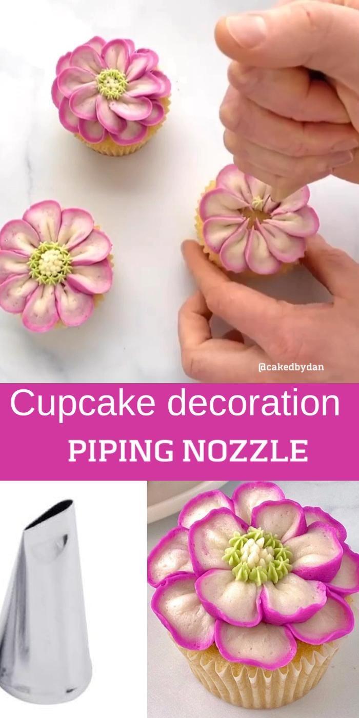 Cupcake decoration idea