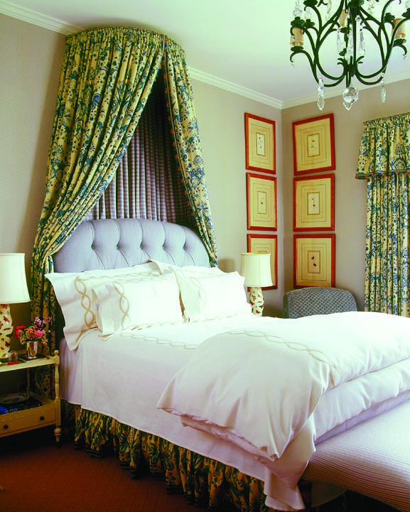 cathy kincaid design bed crown canopydecorating