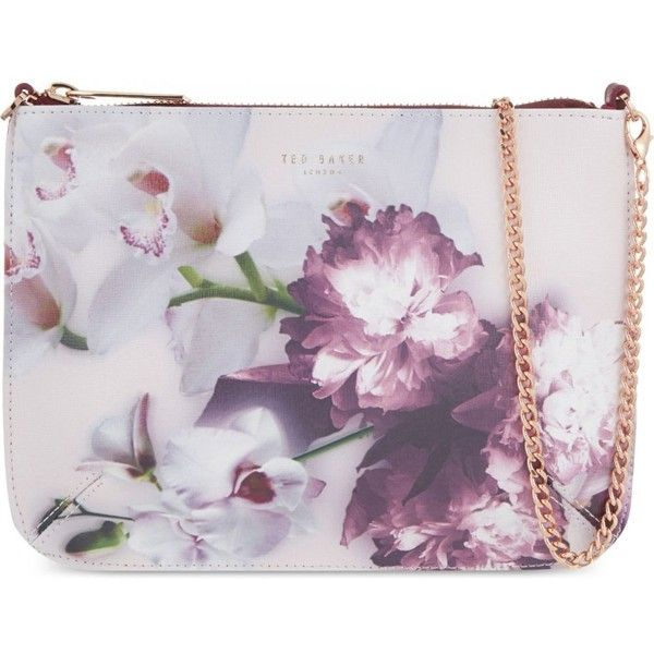 Ted Baker Ethereal Posie Leather Cross Body Bag 115 Liked On