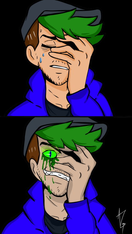 """flowersofthedeceased: """" @therealjacksepticeye finally finished it ! I haven't…"""