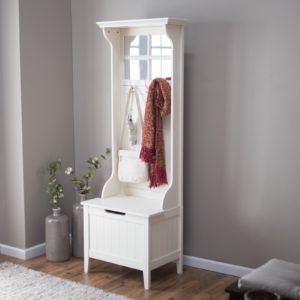 Modern Hall Tree With Storage Bench