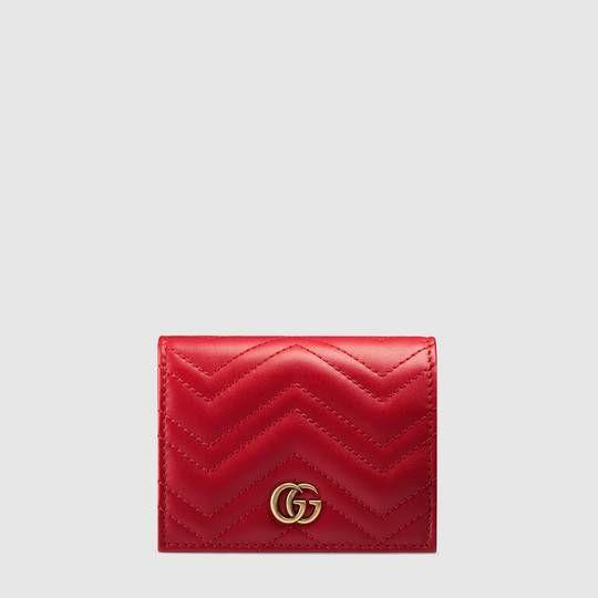 8677eade9afae GG Marmont card case in 2019