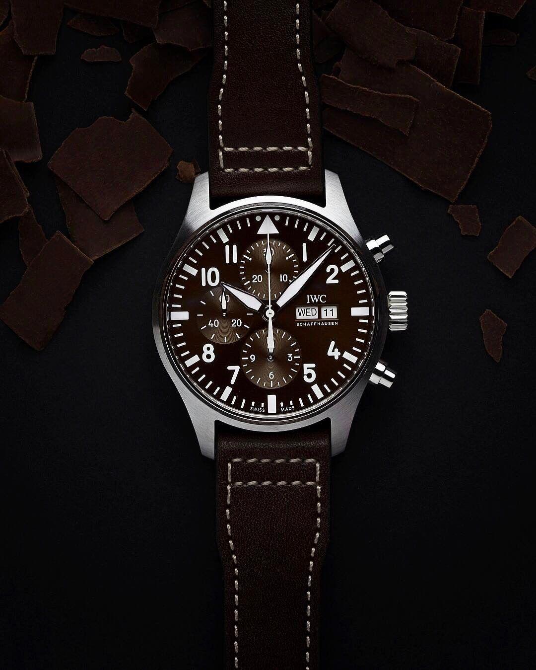 2874bb469a3 TimeZone   Industry News » N E W M o d e l - IWC Pilot Chronograph Edition