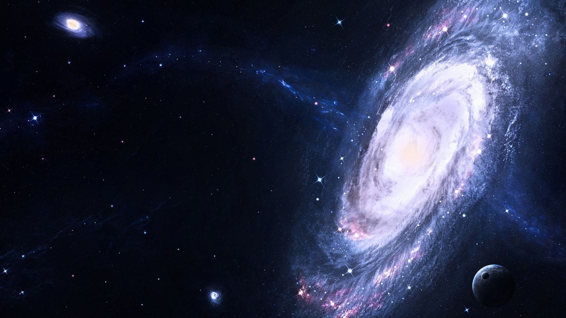 1920x1080 space star galaxy wallpapers full HD
