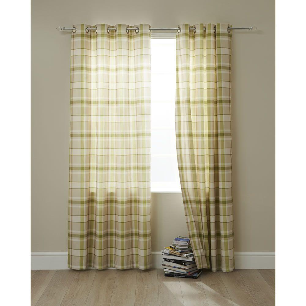 Wilko shower curtain grey at wilko com - Wilko Curtains Green Check 228x228cm 55
