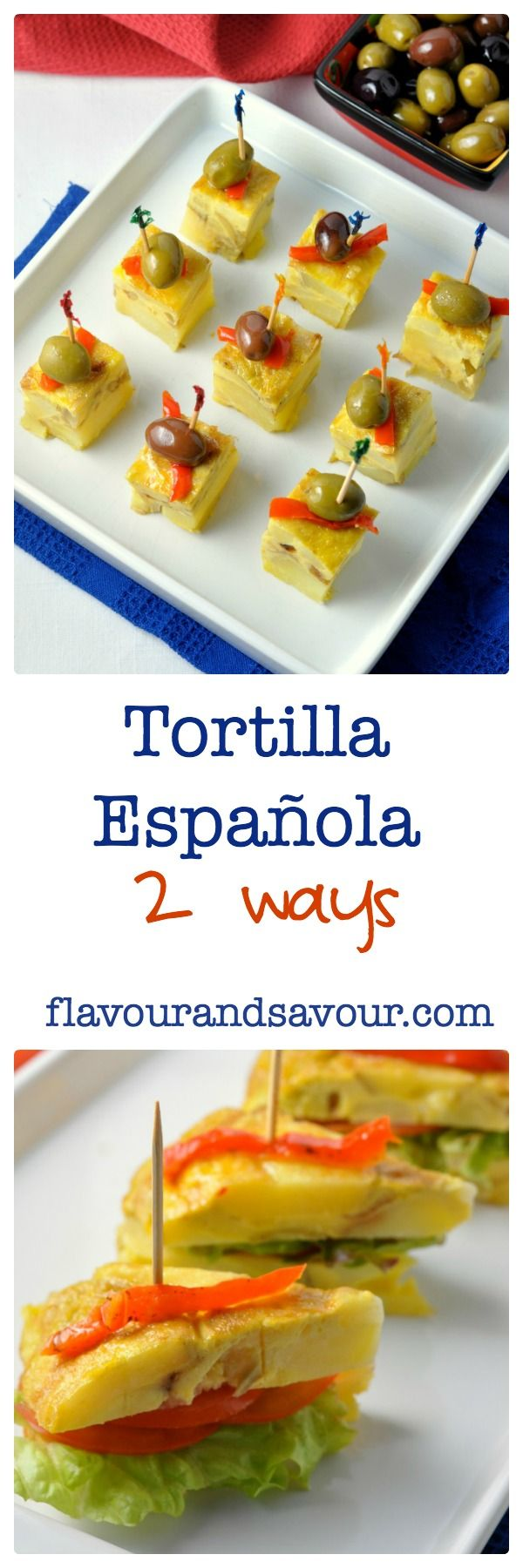 The most traditional Spanish tapa--nothing like a Mexican tortilla! Always turns out perfectly. from Flavour and Savour