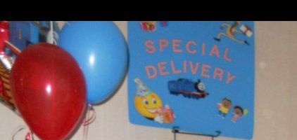 Special delivery/gift area