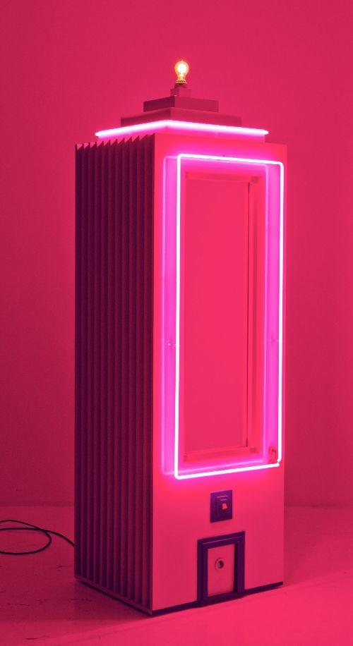 André Saraiva - Pink Vanity, 2012 #lightartinstallation