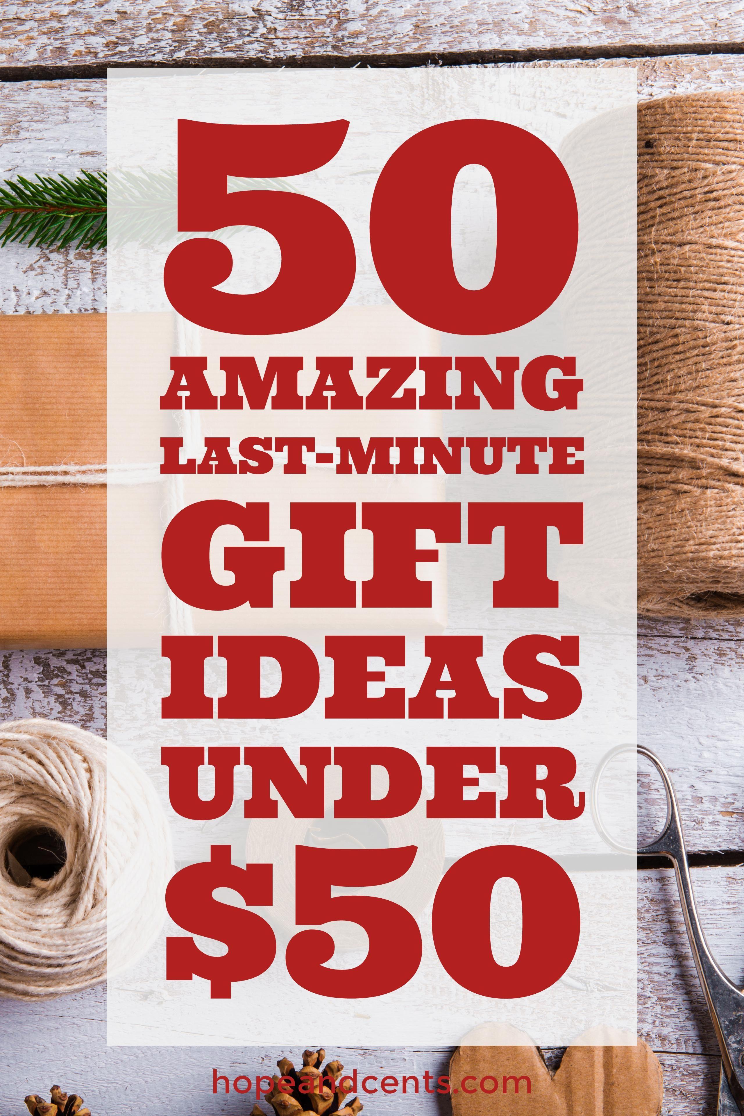 Ideas de regalos 50 asombroso de última hora por debajo del 50 Best Of Hope-1444