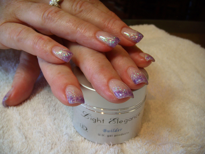 Pin by stylish lady on nail art pinterest glitter fade nails and