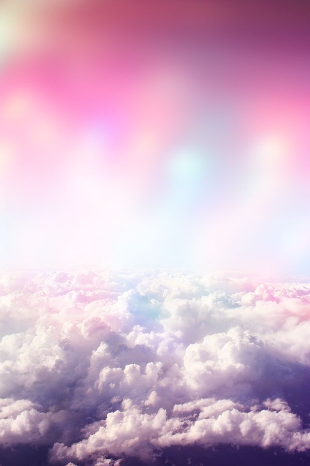Girly Wallpapers For Iphone Above The Cloud Pretty Wallpapers