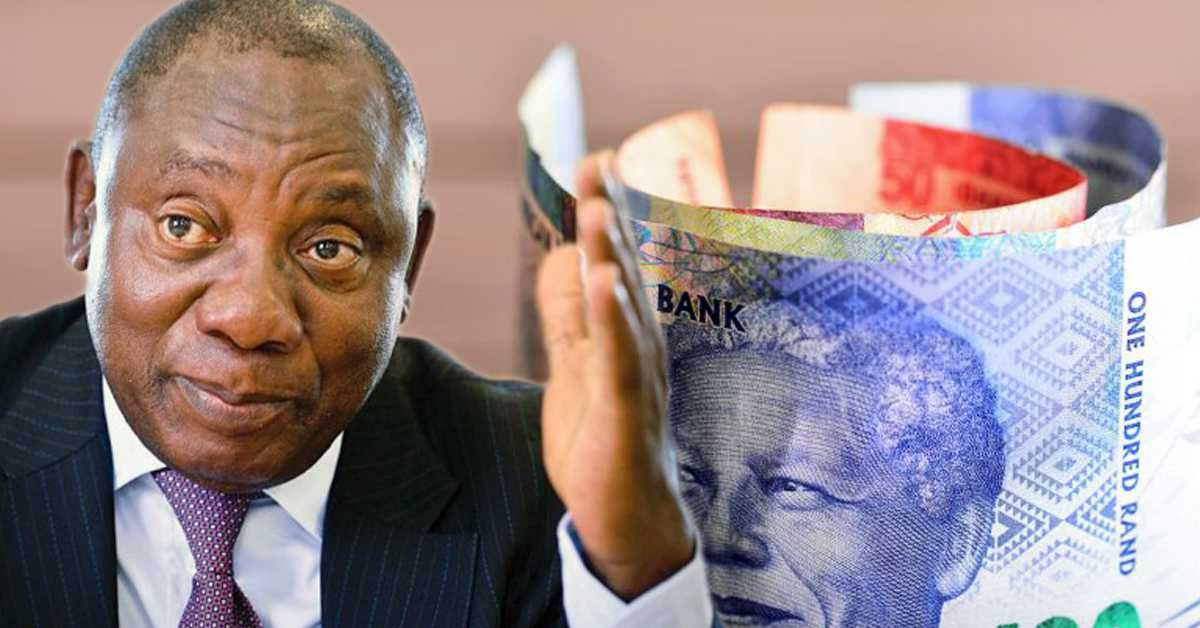 The Ramaphosa effect on the rand South african, Africa