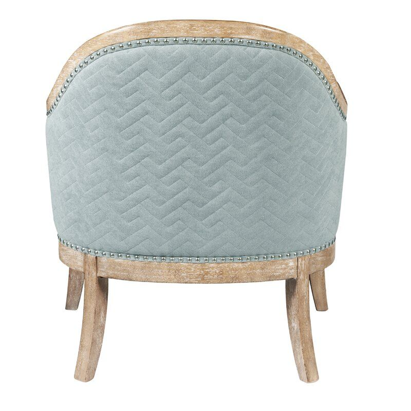 Margarit Wood Quilted Barrel Chair Barrel Chair Chair Accent Chairs