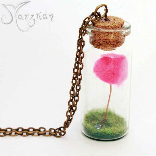 A necklace of the last Truffula tree from The Lorax.