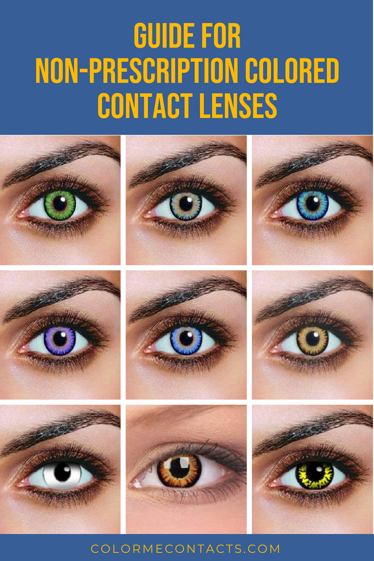 Accessorize Your Eyes With Non Prescription Color Contact Lenses Non Prescription Contac Prescription Colored Contacts Colored Contacts Contact Lenses Colored