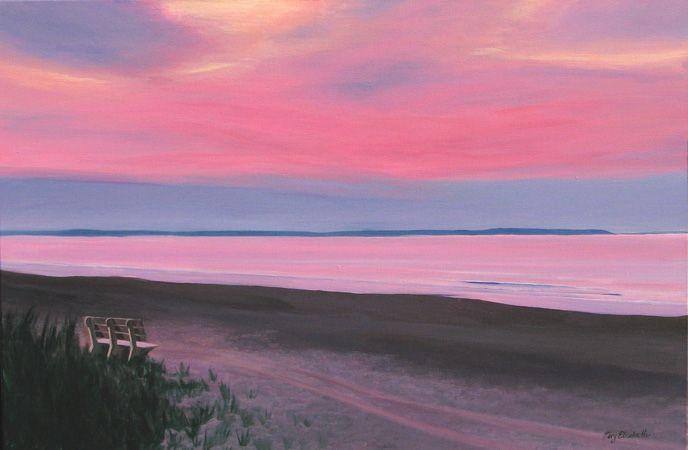 sunrise paintings acrylic - Google Search