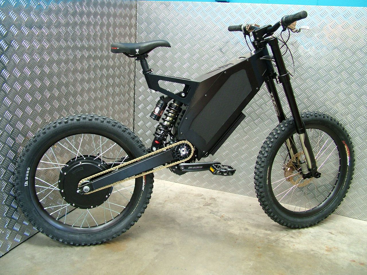 Stealth Electric Bicycles Can Cruise Up To 50mph Video