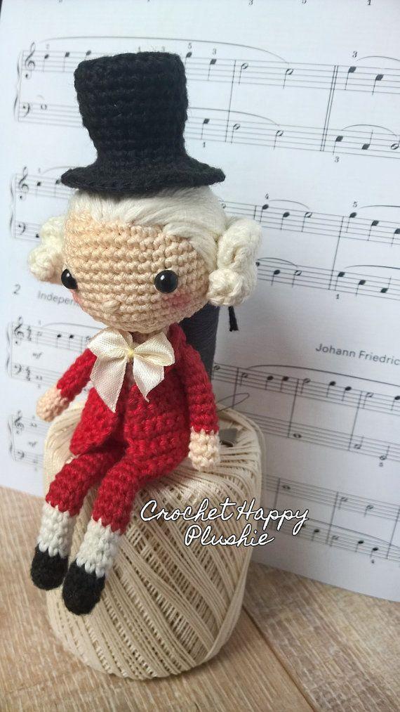 Mozart la muñeca de Shia del patrón / patrón de muñeca amigurumi de ...