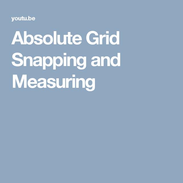 Absolute Grid Snapping And Measuring Blender Tutorial Grid Blender