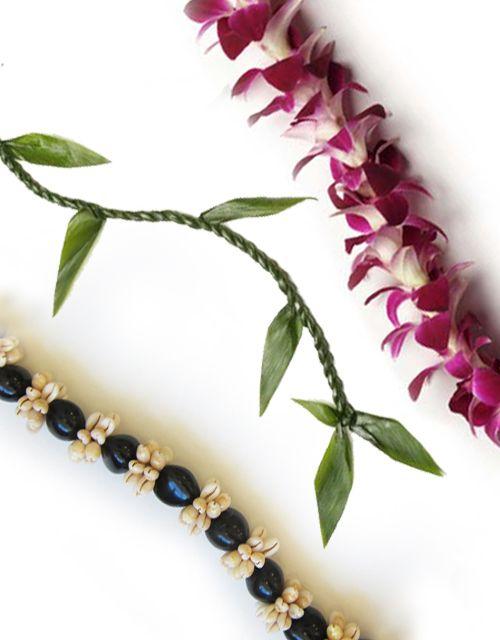 Load up your graduate with three beautiful graduation leis. Hawaii Flower  Lei's Graduation Lei Value