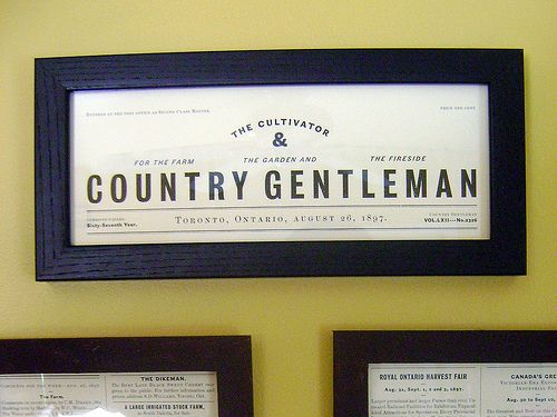The Cultivator & Country Gentleman | Flickr - Photo Sharing!