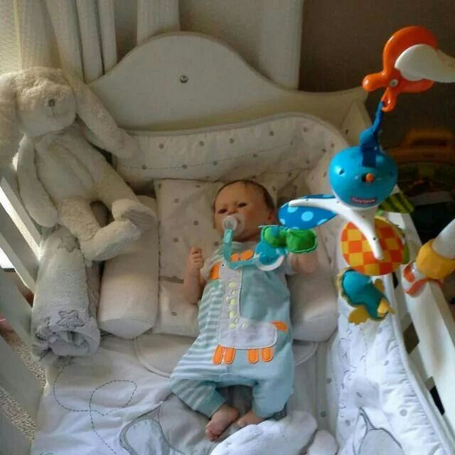Reborn baby doll made by me