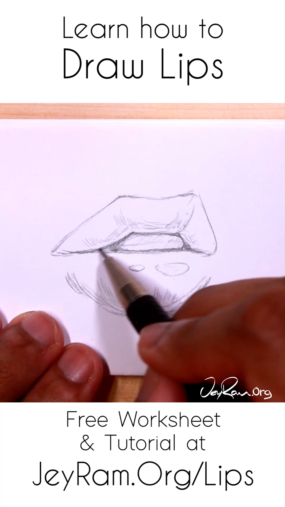 Learn How To Draw Lips From Different Angles By Grabbing