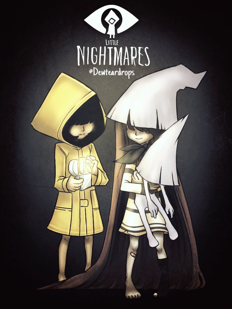 Little Nigthmares Fanart By Rociodibu Little Nightmares Fanart Nightmares Art Nightmare
