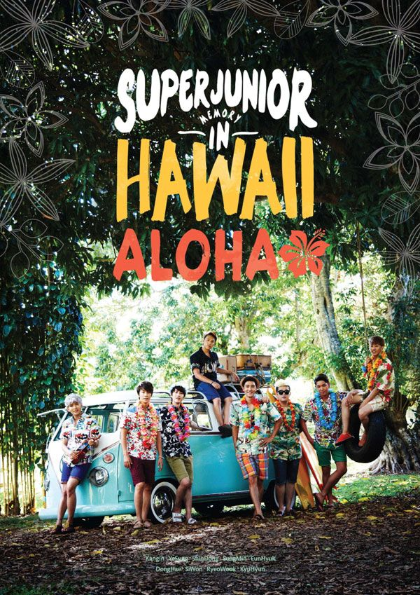 Super Junior Memory in Hawaii 'Aloha' (First Press Limited Edition)