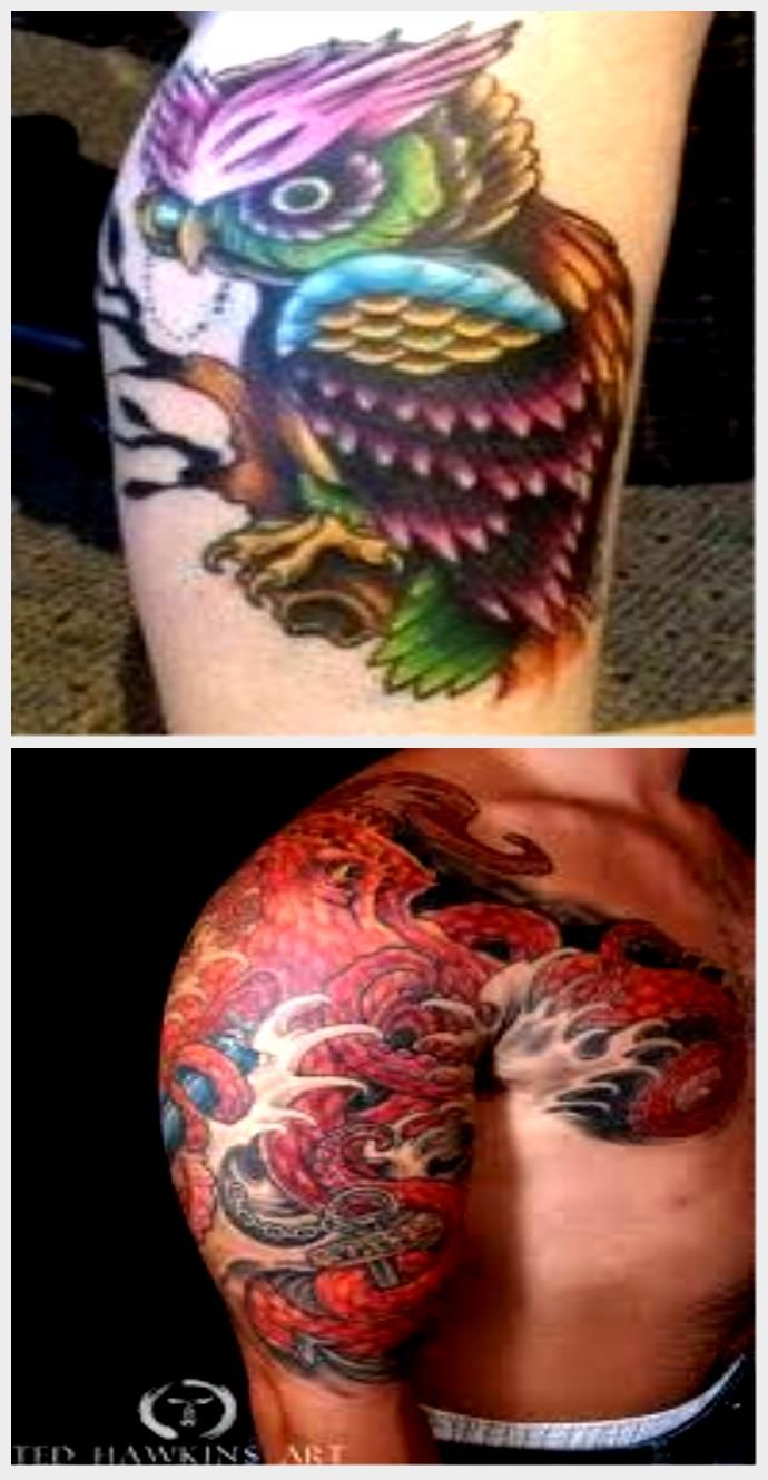 Watercolor tattoo - Abstract Watercolor Tattoos