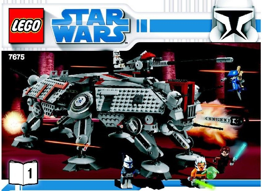 Star Wars Clone Wars At Te Walker Lego 7675 Lego Sets Of