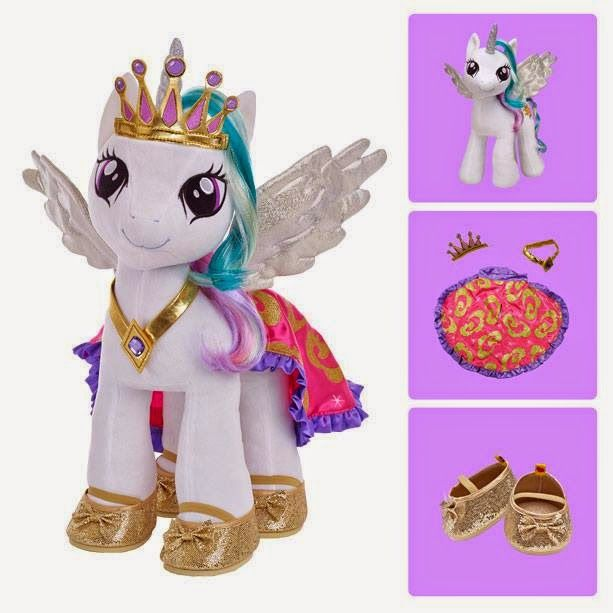 Celestia Build-a-Bear with her Accessories... please be out for Christmas!!